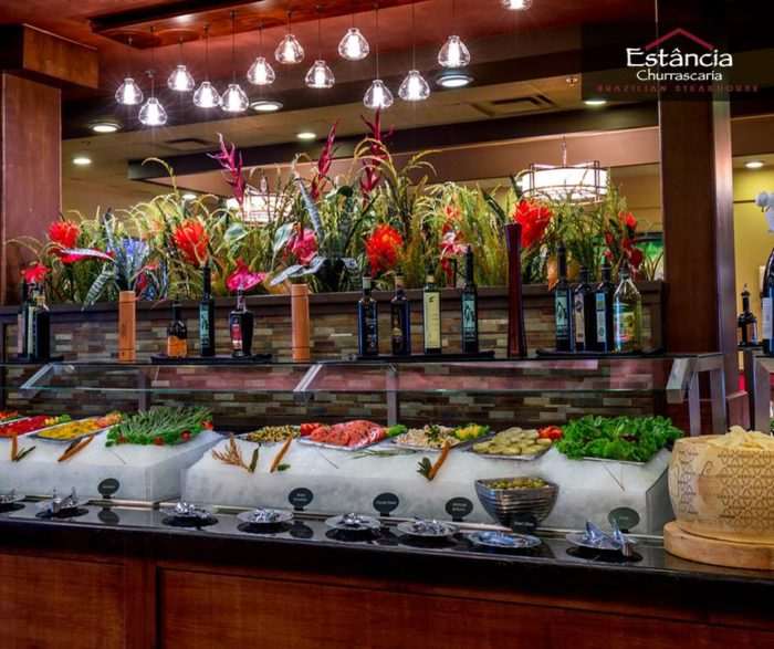 Of course, you can't forget about their lavish salad bar.