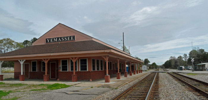 While you're in town, you'll want to pay a visit to the Yemassee Station.