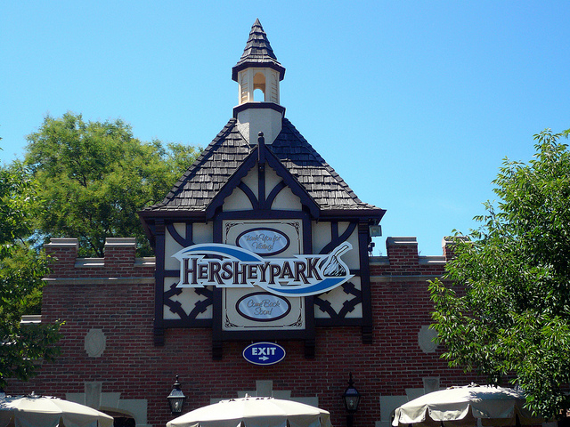 14. Become a kid again at Hershey Park.