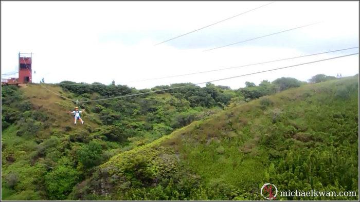 14. Take to the skies and go ziplining through the Hawaiian jungle.