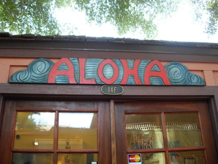 14. The Aloha Spirit is all-encompassing.