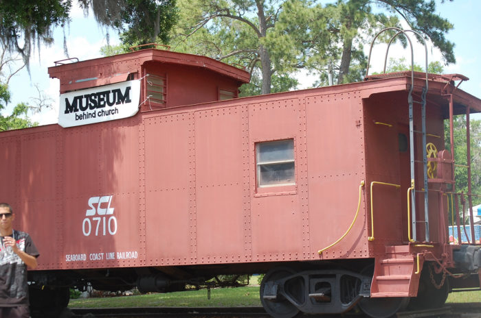 "The museum also owns this adorable ""Little Red Caboose"" that was made in 1937."
