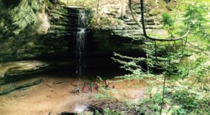 Walk Behind A Waterfall For A One-Of-A-Kind Experience In Michigan