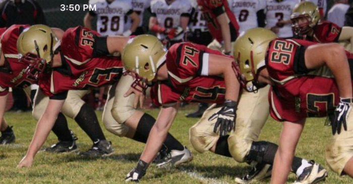 7. High school sports were a big deal.