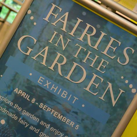 What we didn't mention is that each year from April through September, this Maryland gem has a magical fairy garden exhibit.