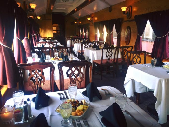 Feeling fancy? The Walkersville Southern Railroad also offers dinner trains. This experience includes a meal and most often, a murder mystery show.