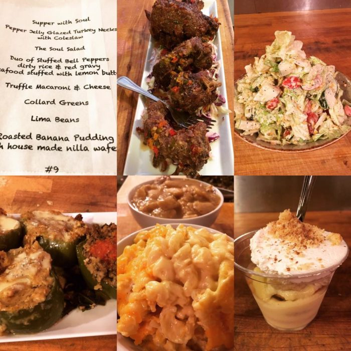Don't miss the once-a-month Thursday night Supper Club.