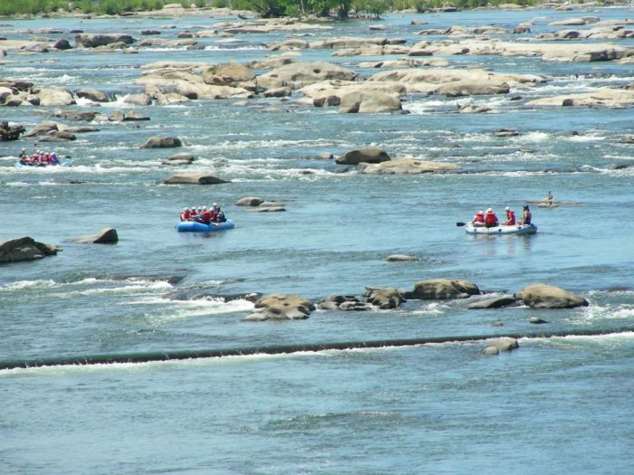 13. Raft the James River