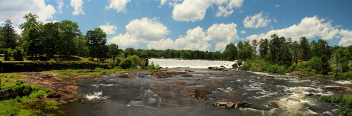 Back in the 1800s, the area which is now High Falls State Park was a prosperous industrial town.