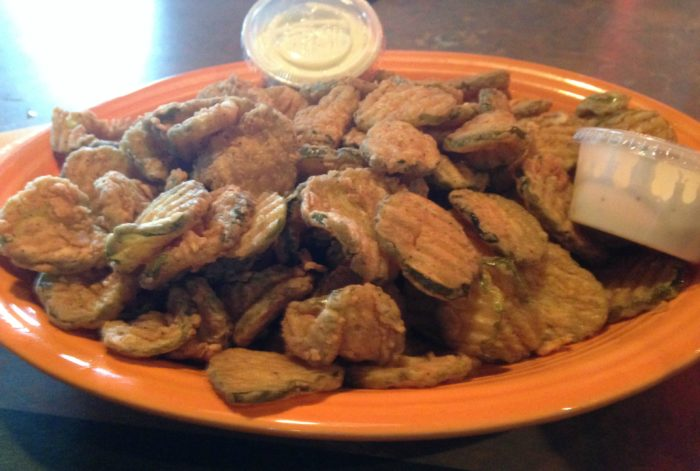 3. Fried Pickles