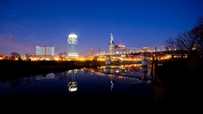 7. Forever in love with the Nashville skyline.