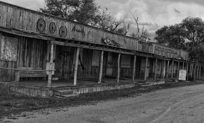 4. This building was part of Scenic, South Dakota, a town long since emptied and once put up for sale.