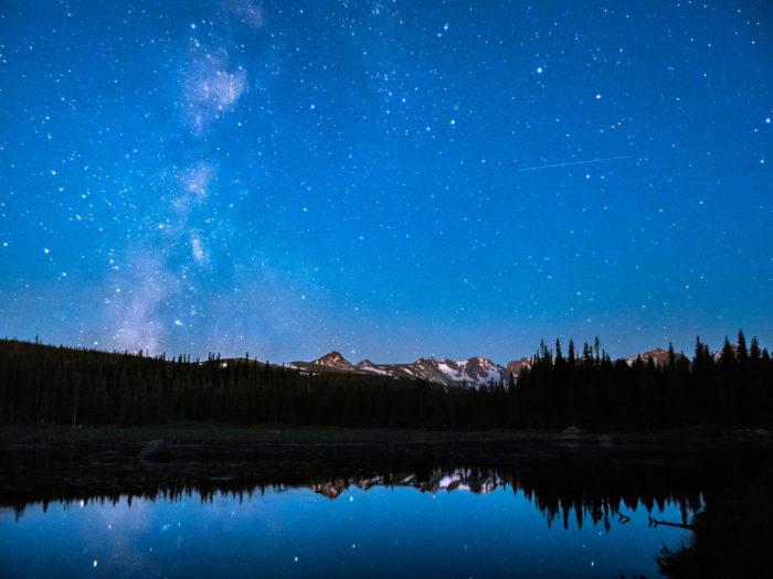 15. Go star gazing in the mountain wilderness.