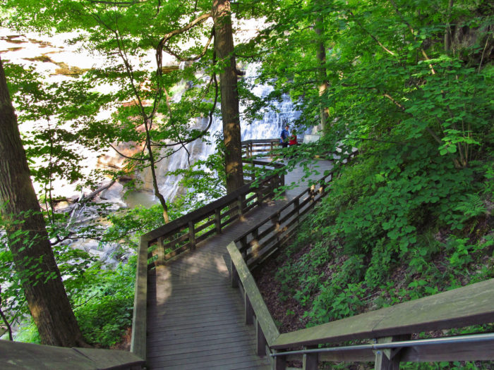 10. Brandywine Falls and Stanford Trail (Cuyahoga Valley National Park)