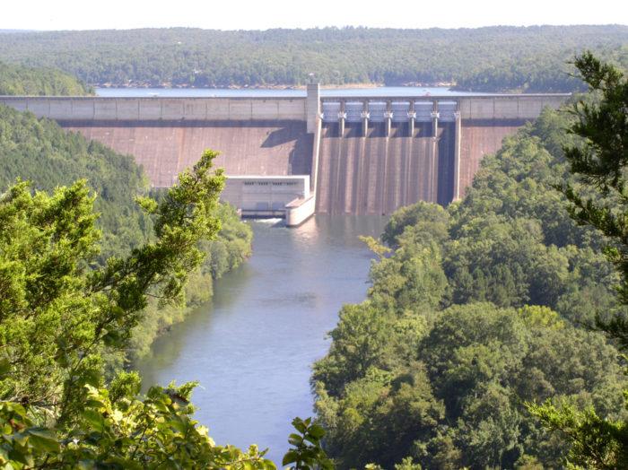 8. Greers Ferry Dam (Greers Ferry)