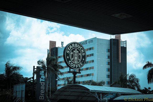 14. Skip over our the massive amount of coffee shops for Starbucks.