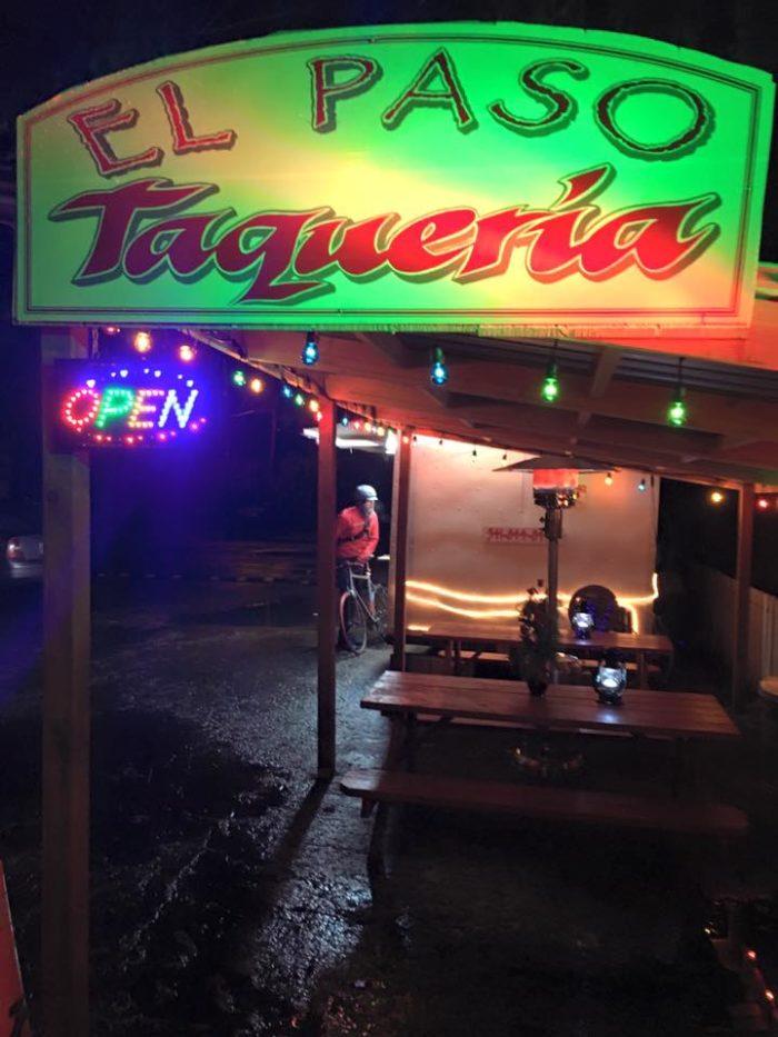 5. El Paso Taqueria, Eugene