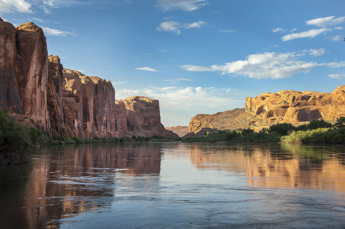 Next to the banks of the Colorado River, near Moab, you'll find something unexpected.