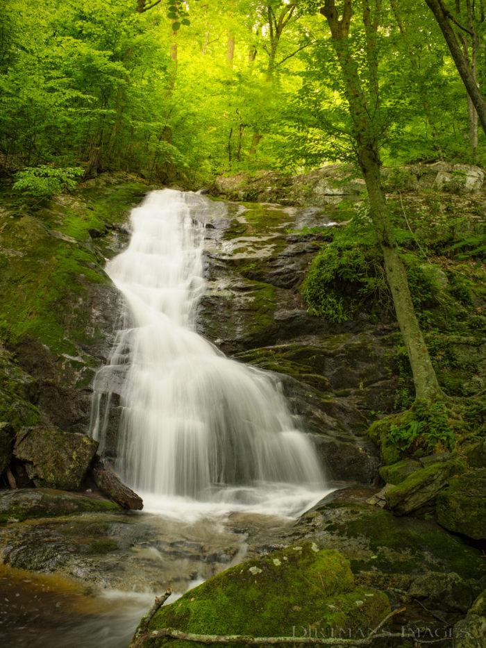 3. Hike alongside Crabtree Falls in Montebello.