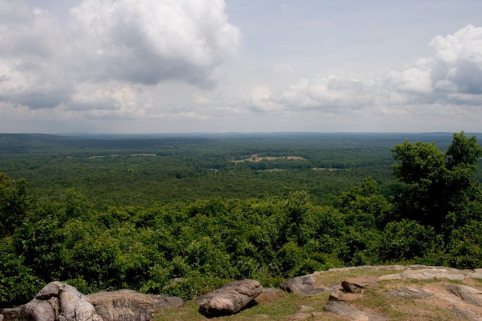 7. F.D. Roosevelt State Park: Pine Mountain Trail (Dowdell's Knob Loop)—4.3-mile loop