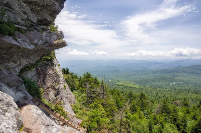 1. Hike the strenuous but well worth it Grandfather's Profile Trail at Grandfather Mountain.