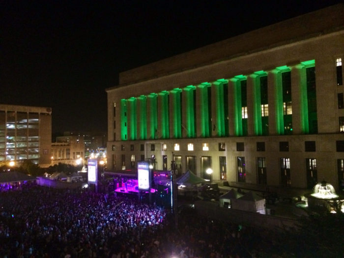 3. Take in a free show at Live on the Green.
