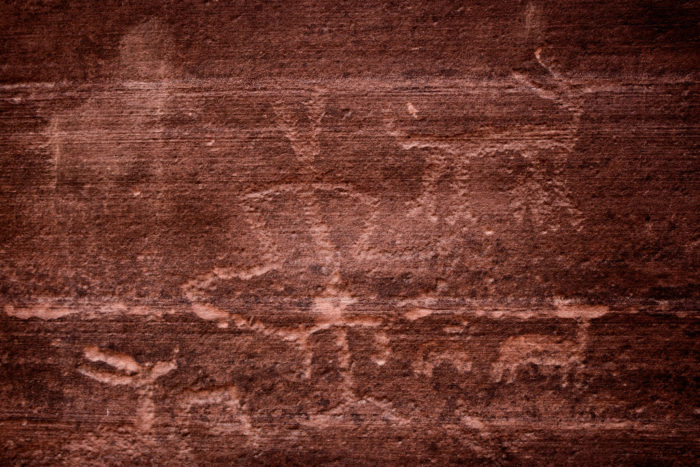 On a happier note, watch for petroglyphs, too. They're at least as interesting and have the added bonus of not being deadly.