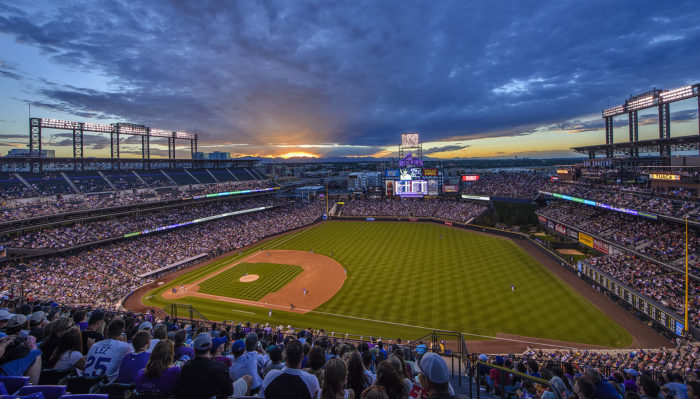 12. You pretty much grew up at Coors Field.