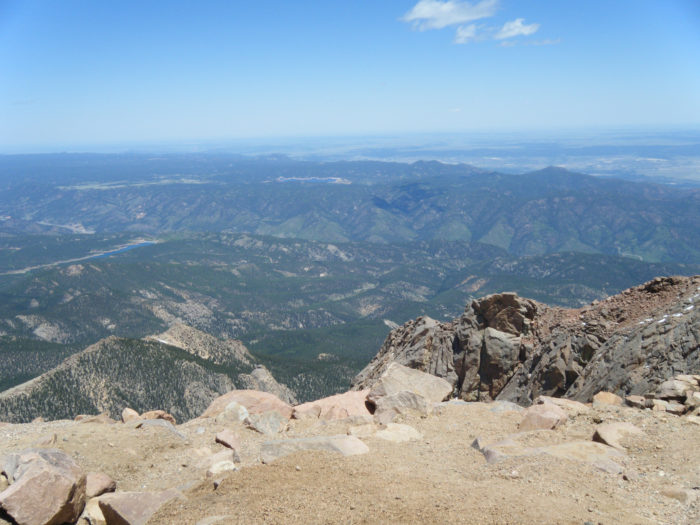"""In 1893, Katherine Lee Bates wrote her iconic """"America the Beautiful"""" after seeing the spectacular view from the top of Pikes Peak."""