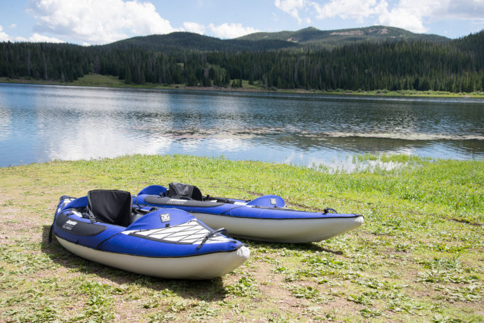 6. Enjoy some non-motorized boating at a nearby lake or reservoir.