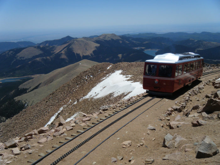 There are several ways to reach the top of Pikes Peak, including the Broadmoor's Pikes Peak Cog Railway, Pikes Peak Highway, or - of course - hiking the famous 14er.