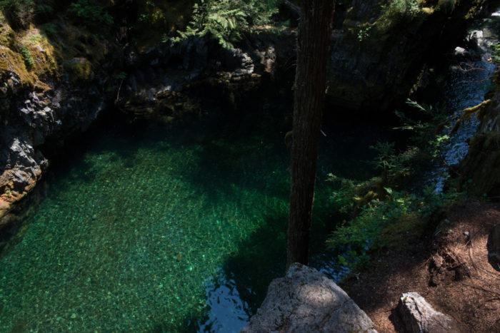 7. Opal Pool and Cedar Flats Hike