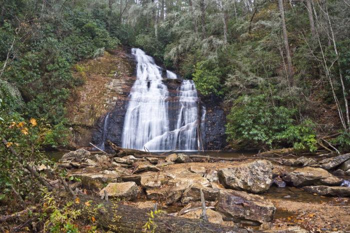 2. Helton Creek Falls Trail—0.6 miles