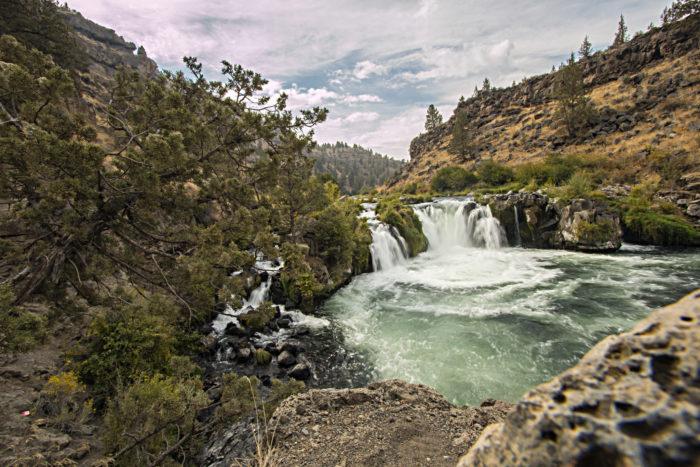 6. Steelhead Falls, 1.2 miles