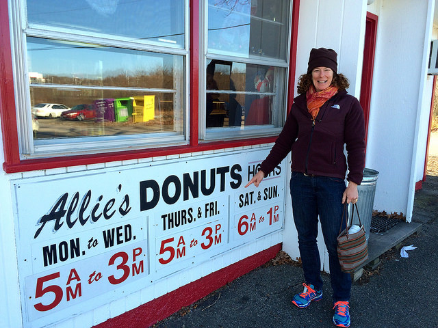13. You've had donuts from Allie's.