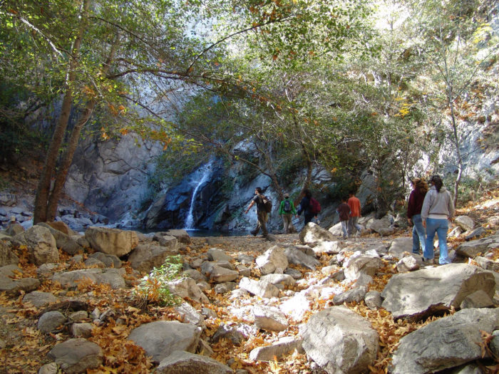 1. Sturtevant Falls -- San Gabriel Mountains