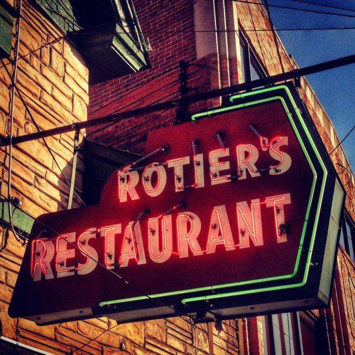 4. Rotier's Restaurant
