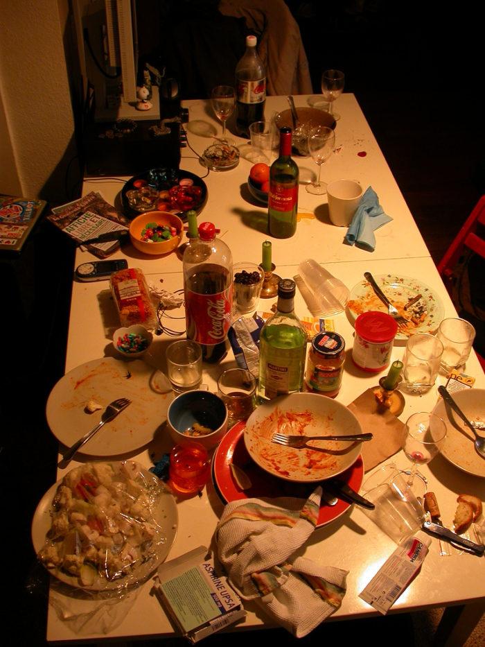 3. Not having enough food.