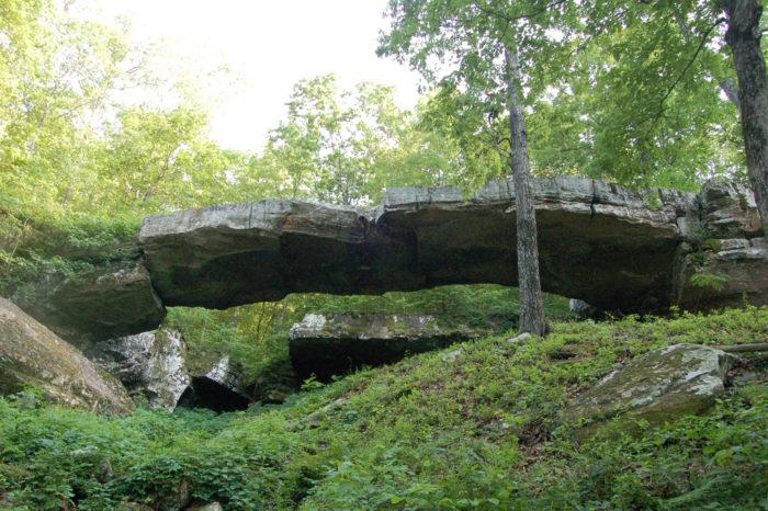 2. Natural Bridge (Clinton)
