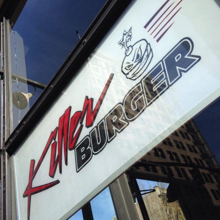 1. Killer Burger