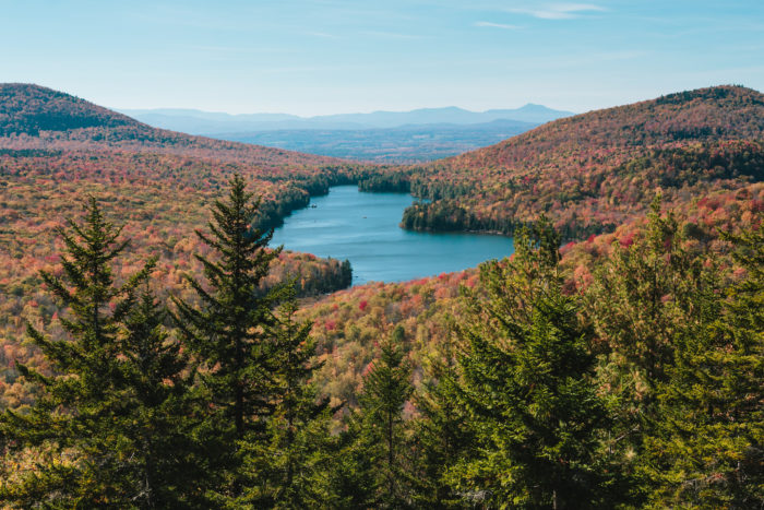 1.  Take in the Views from Owl's Head Lookout, Kettle Pond in Groton State Forest.