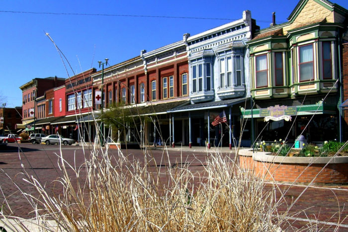 In addition to its healthy farms and agriculture scene, Fort Scott is popular for its colorful downtown area...