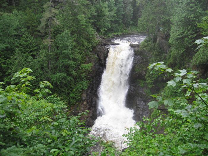 8. Gawk at Moxie Falls, Moxie Gore.