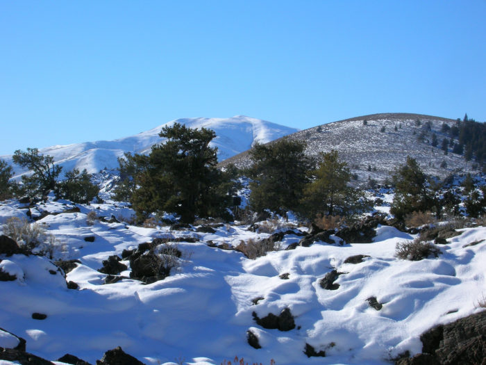 3. Snowshoe Craters of the Moon.