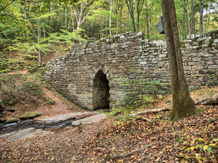 6. History is important. South Carolinians preserve as much of our history as possible, like the Poinsett Bridge.