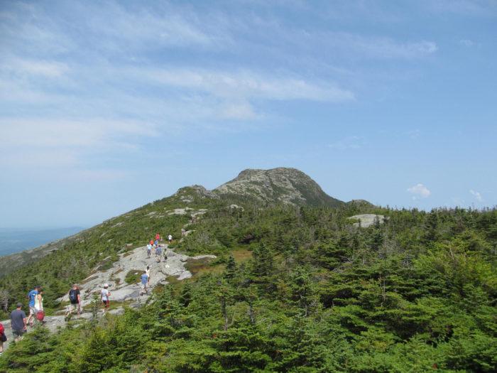 7.  Climb to the top of Vermont's highest peak.