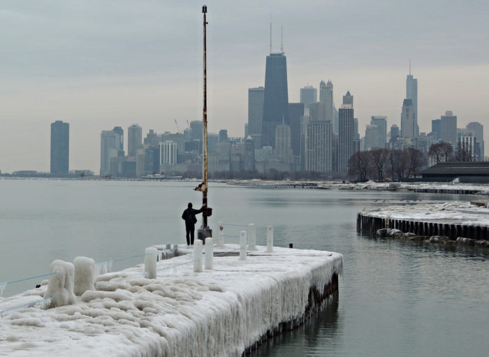 We can only hope that we won't see another polar vortex this year.