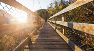 Georgia's Full-Moon Suspension Bridge Hike At Tallulah Gorge Needs To Be On Your Bucket List