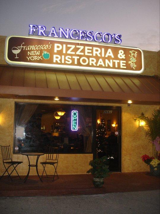 4. Francesco's New York Pizzeria & Ristorante, Sarasota