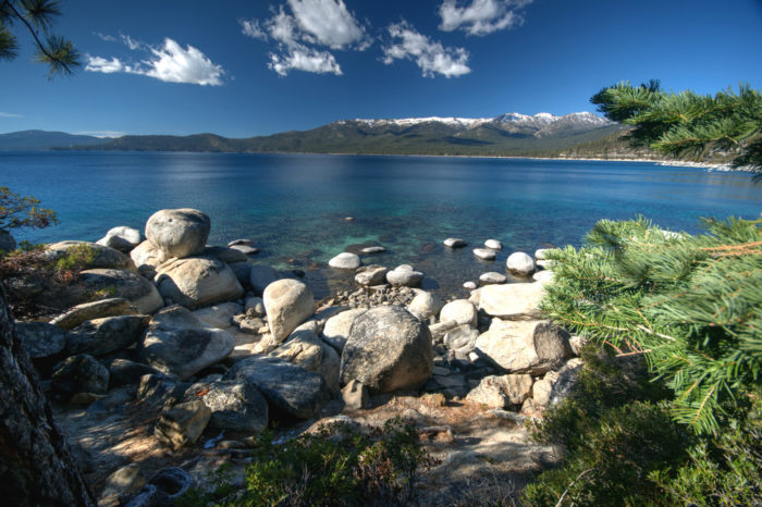8. Be thankful that Nevada knows how to share by spending a day at Lake Tahoe.